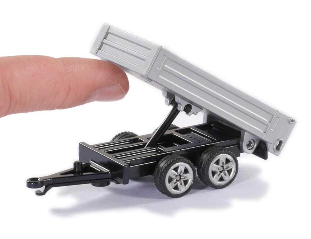 Spielzeugautos 31234476 Siku Pick-Up mit Kippanhänger