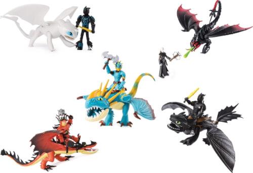 Film, TV & Videospiele Spin Master Drachenzähmen leicht gemacht Movie Line Mini Dragons