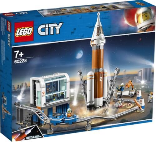 LEGO® City 60228 Weltraumrakete mit Kontrollzentrum, 837 Teile