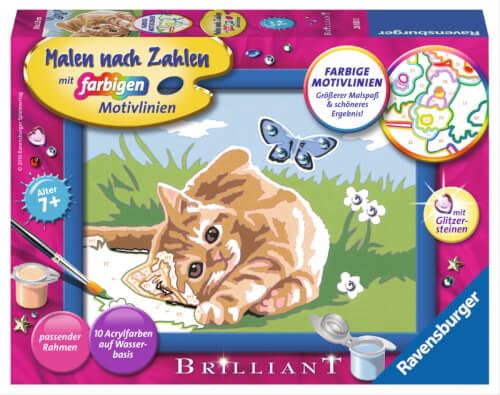 Ravensburger 280230 Malen Nach Zahlen Kätzchen Mit