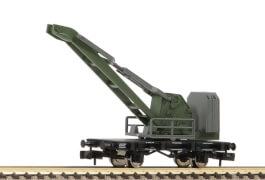 N Kranwagen, ähnlich der Bauart WYHLEN, DB