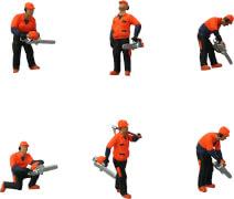 H0 Exklusiv-Figuren-Set Waldarbeiter