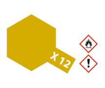 X-12 Blatt-Gold glänzend 23 ml