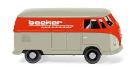 WIKING VW T1 Kastenwagen Becker Autoradio