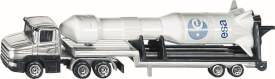 SIKU 1614 SUPER - Tieflader mit Rakete, ab 3 Jahre
