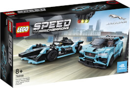 LEGO® Speed Champions 76898 Formula E Panasonic Jaguar Racing GEN2 car & Jaguar I-PACE eTROPHY