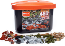 Mattel GJD25 Mega Construx Box für Fortgeschrittene (480 Teile)