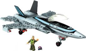 Mattel GPP89 Mega Construx Probuilder Top Gun Jet