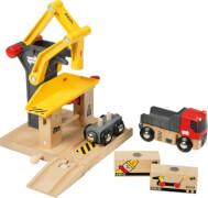 BRIO 33280002 Frachtverladestation, Holz, Kunststoff, ab 36 Monate - 7 Jahre, mehrfarbig