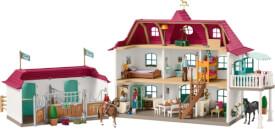 Schleich Horse Club 42416 Großer Pferdehof mit Wohnhaus und Stall