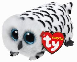 TY Teeny Tys - Schneeeule Nellie, Plüsch, ca. 4x4x8 cm
