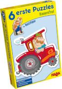 HABA 6 erste Puzzles  Bauernhof