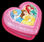 Ravensburger 11234 Herzschatulle - Disney Princess