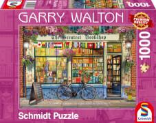 Schmidt Spiele Puzzle Garry Walton Buchhandlung, 1000 Teile