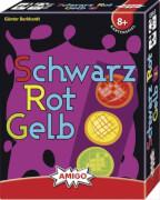 AMIGO 01663 Schwarz Rot Gelb - Refresh, Kartenspiel, für 2-6 Spieler, Spieldauer: ca. 20 Min, ab 8 Jahren