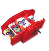 AMIGO 05000 Kartenmischmaschine Rot