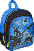 Dragons Rucksack mit Vortasche