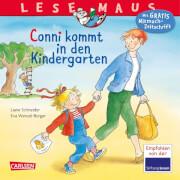Lesemaus - Band 28: Conni kommt in den Kindergarten, Taschenbuc, 24 Seiten, ab 3 Jahren