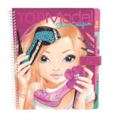 Depesche 7987 TOPModel Shoe Designer - Malbuch mit Rubbelsticker