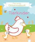 Arena Mein erstes Glitzermalbuch - Tierkinder