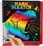 Depesche 10833 Dino World Magic Scratch Book