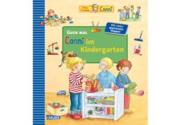 Guck mal: Conni im Kindergarten, Pappbilderbuch, 14 Seiten, ab 3 Jahre