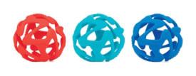 Nuby Beißball aus Silikon, ca. 11 cm, sortiert