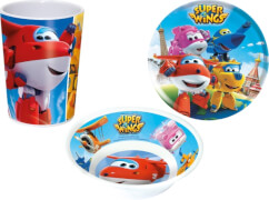 Super Wings, 3tlg, Melaminset