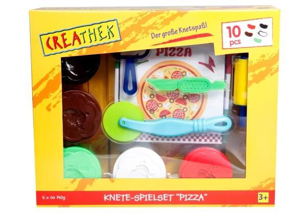 Sonstige 9-teilig Knete-Spielset Pizza